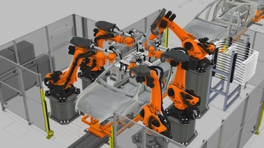Kuka investiert in Simulations-Know-how und übernimmt Visual Components.